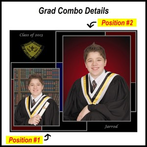 Additional Grad photo details