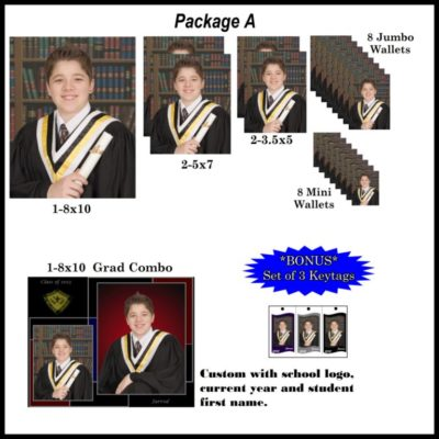 Graduation photo package A