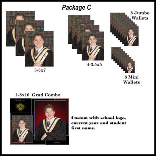 Grad photo package c