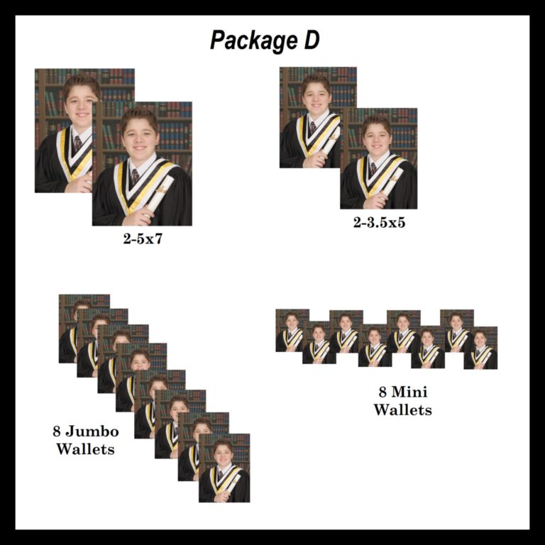 package D graduation photos- order online