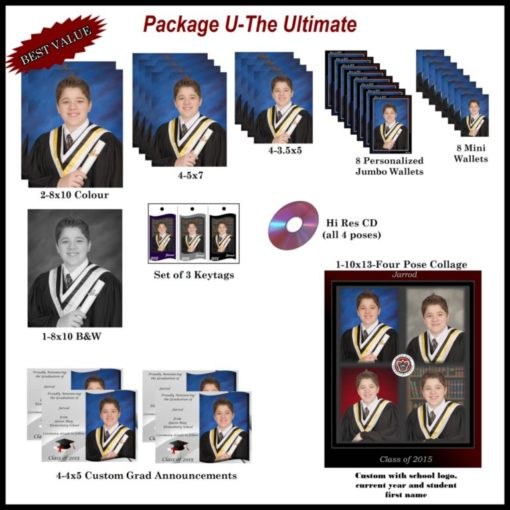 Ultimate Grad photo package