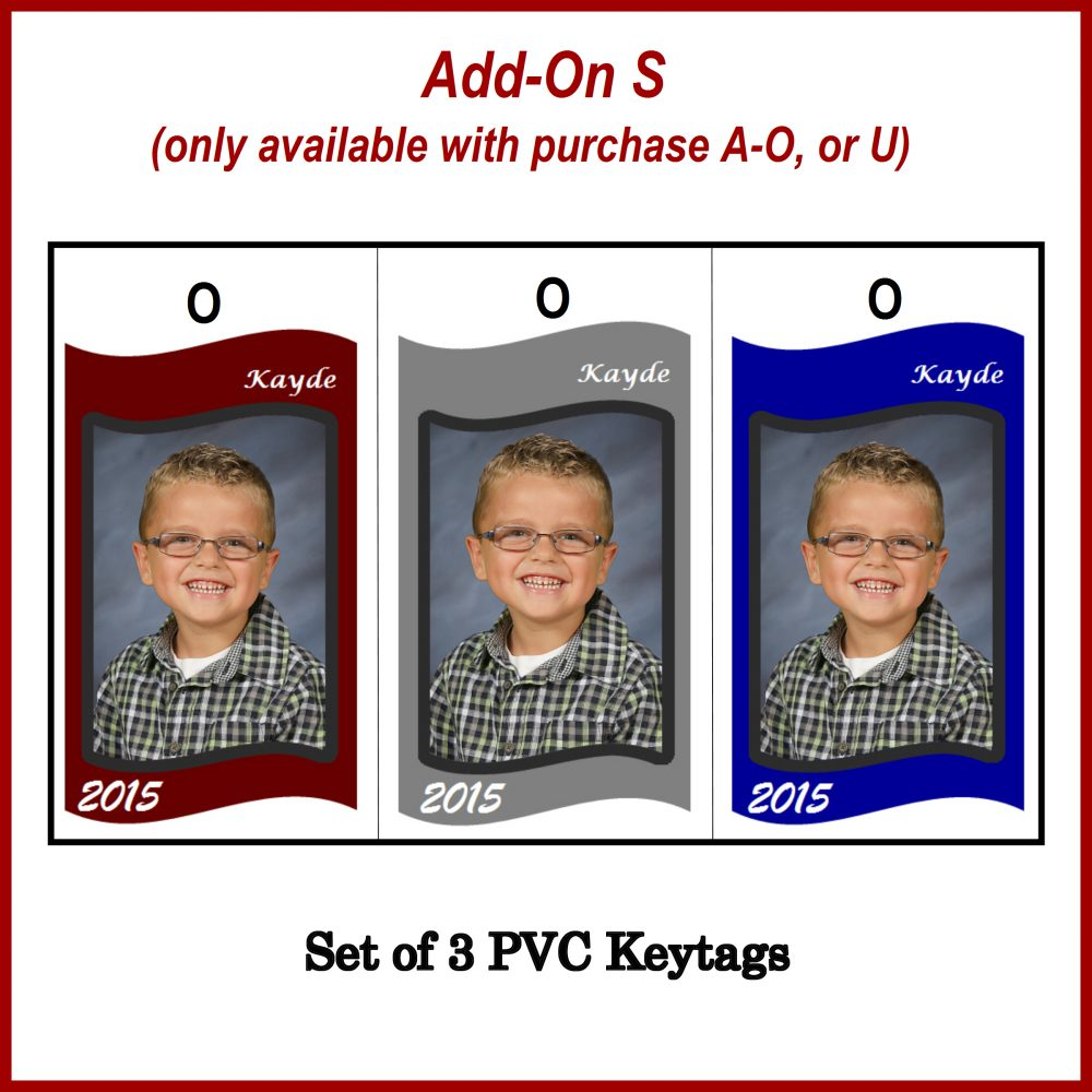 Add On Photo Keytags