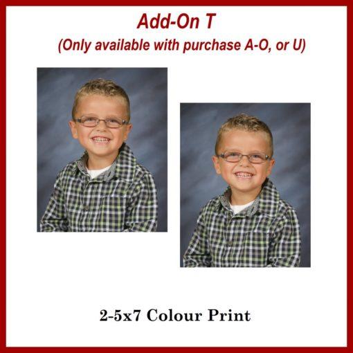 5x7 add on prints