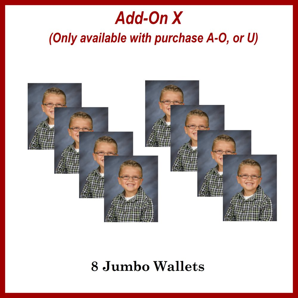 school photos- wallet size