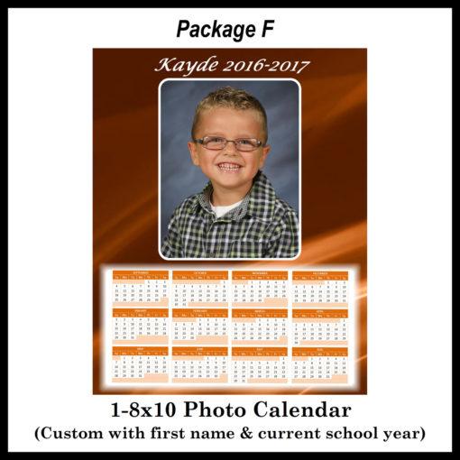 8x10 calendar