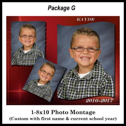 School Photo Montage
