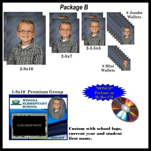 School Days Photo Package B
