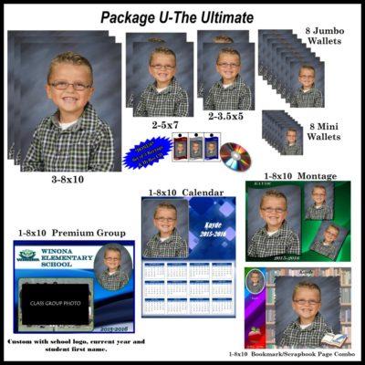 Ultimate school photo package