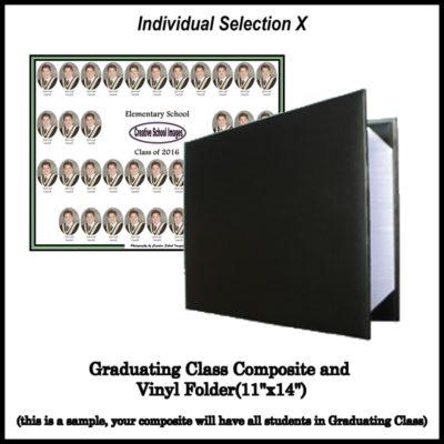 Graduation Photo Individual Selection X
