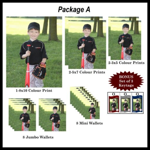 Sports photography package A