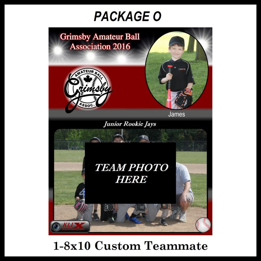 Teamate photo package O